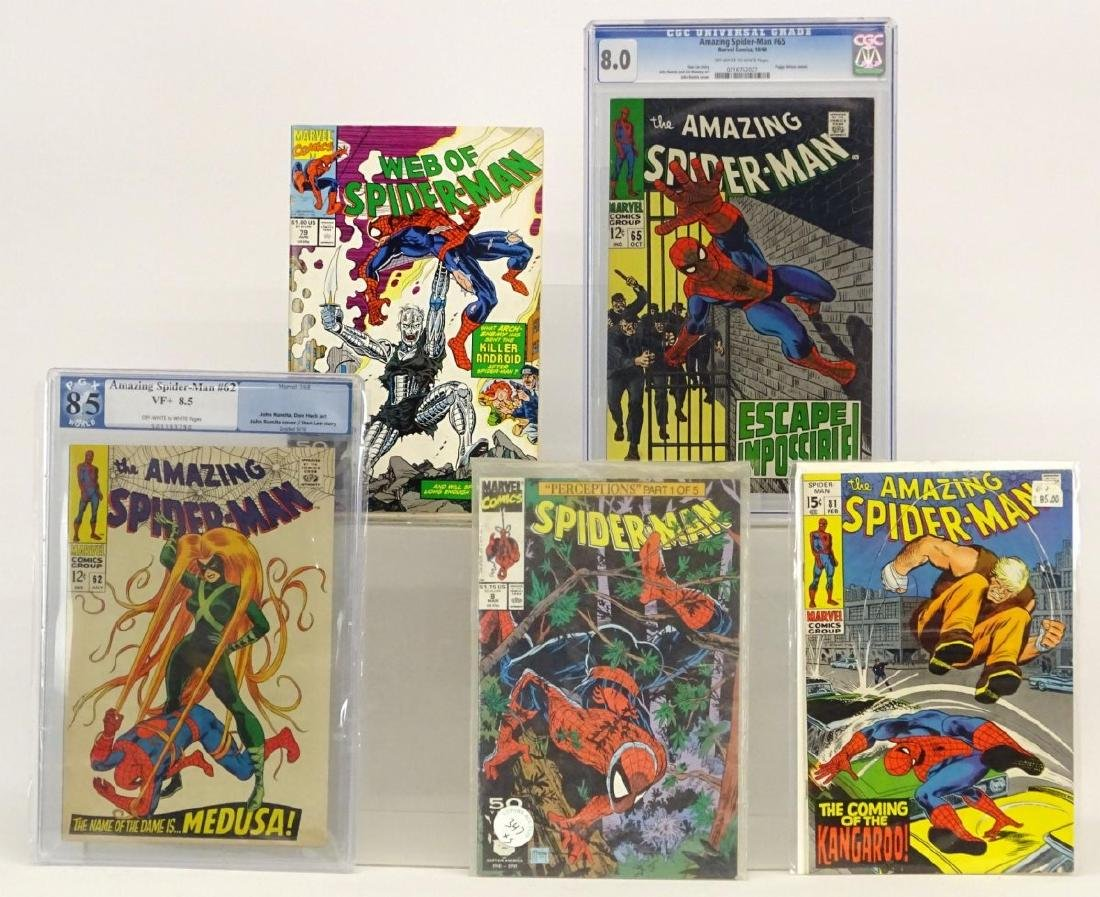 The Amazing Spiderman Comic Book Lot