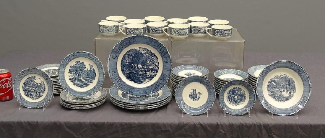 Currier & Ives Dinnerware