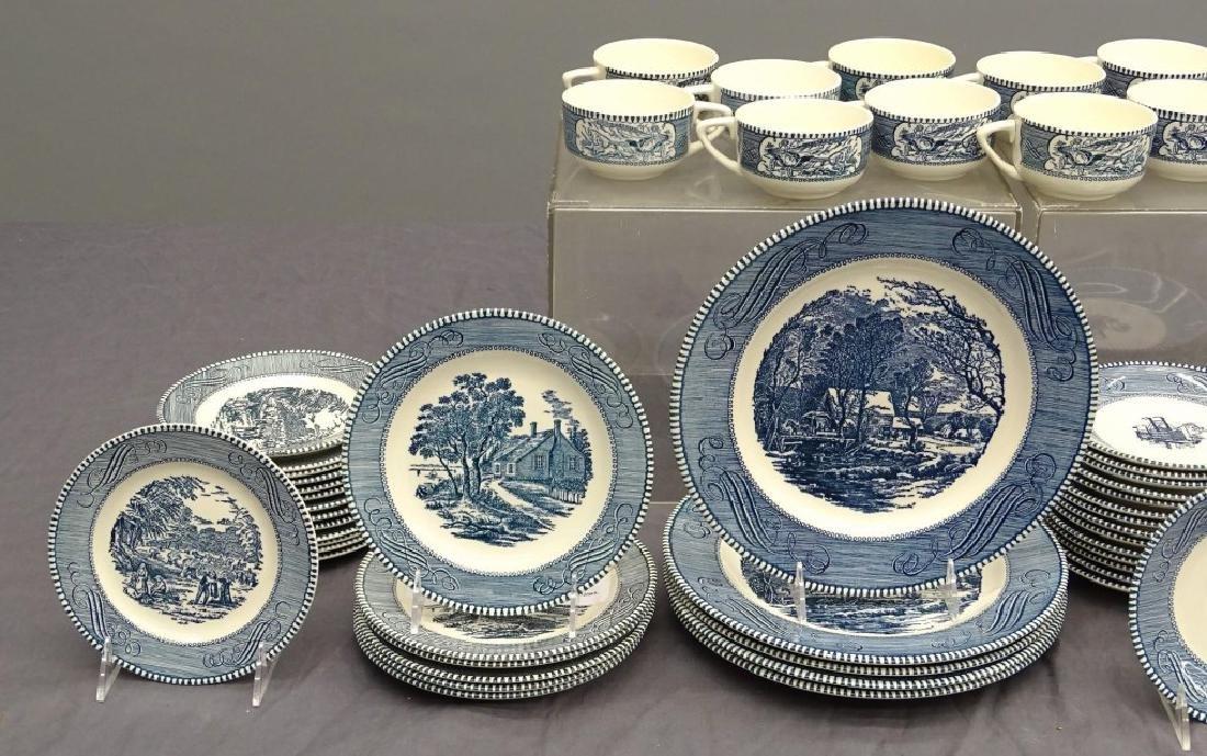 Currier & Ives Dinnerware - 3