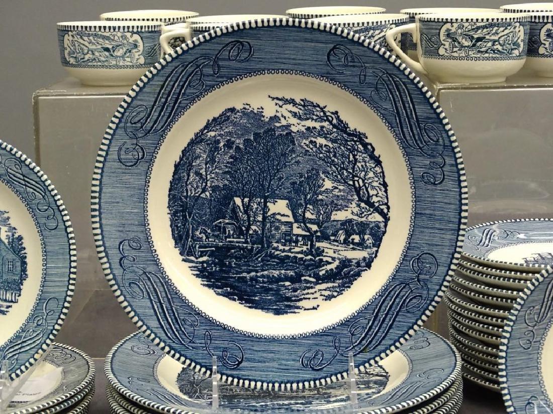Currier & Ives Dinnerware - 4
