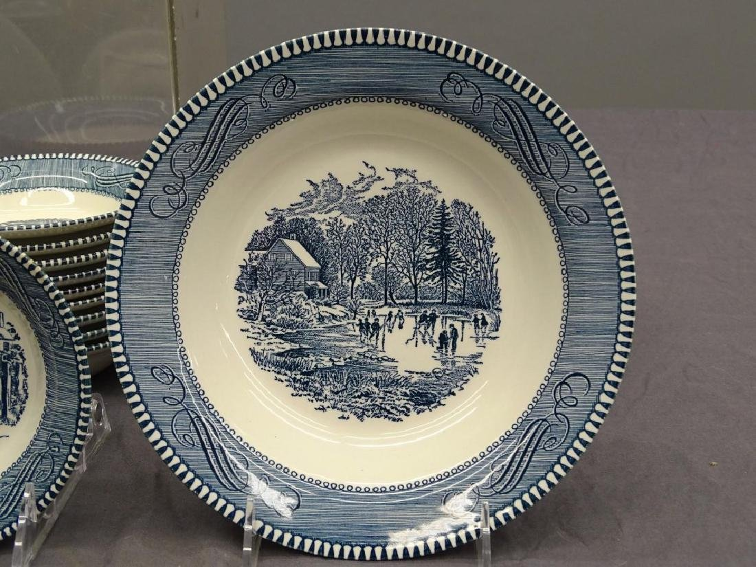 Currier & Ives Dinnerware - 5