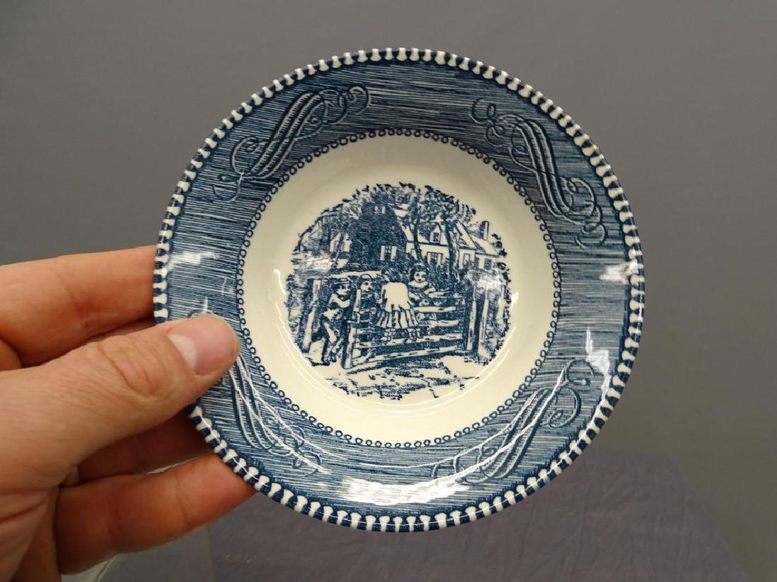 Currier & Ives Dinnerware - 6