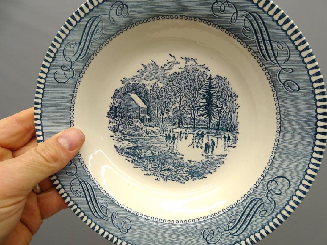 Currier & Ives Dinnerware - 9