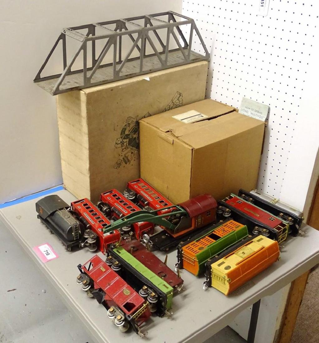Early Lionel Line Train Set