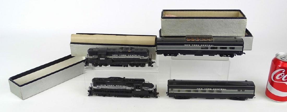 HO Scale Model Train Lot