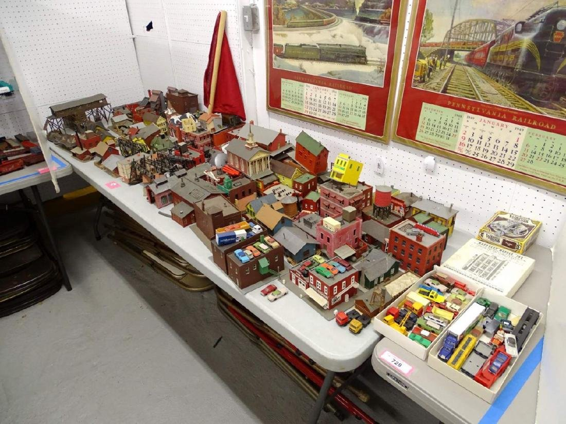 Large Lot of HO Scale Buildings