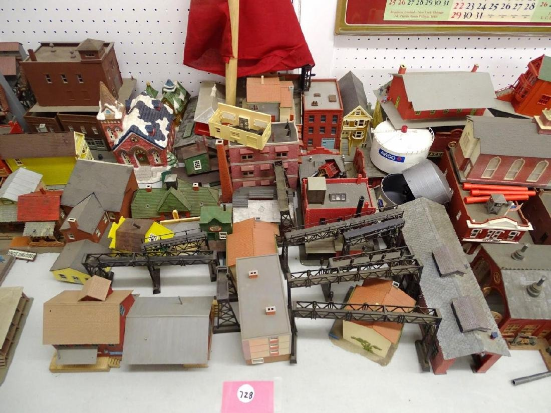 Large Lot of HO Scale Buildings - 3