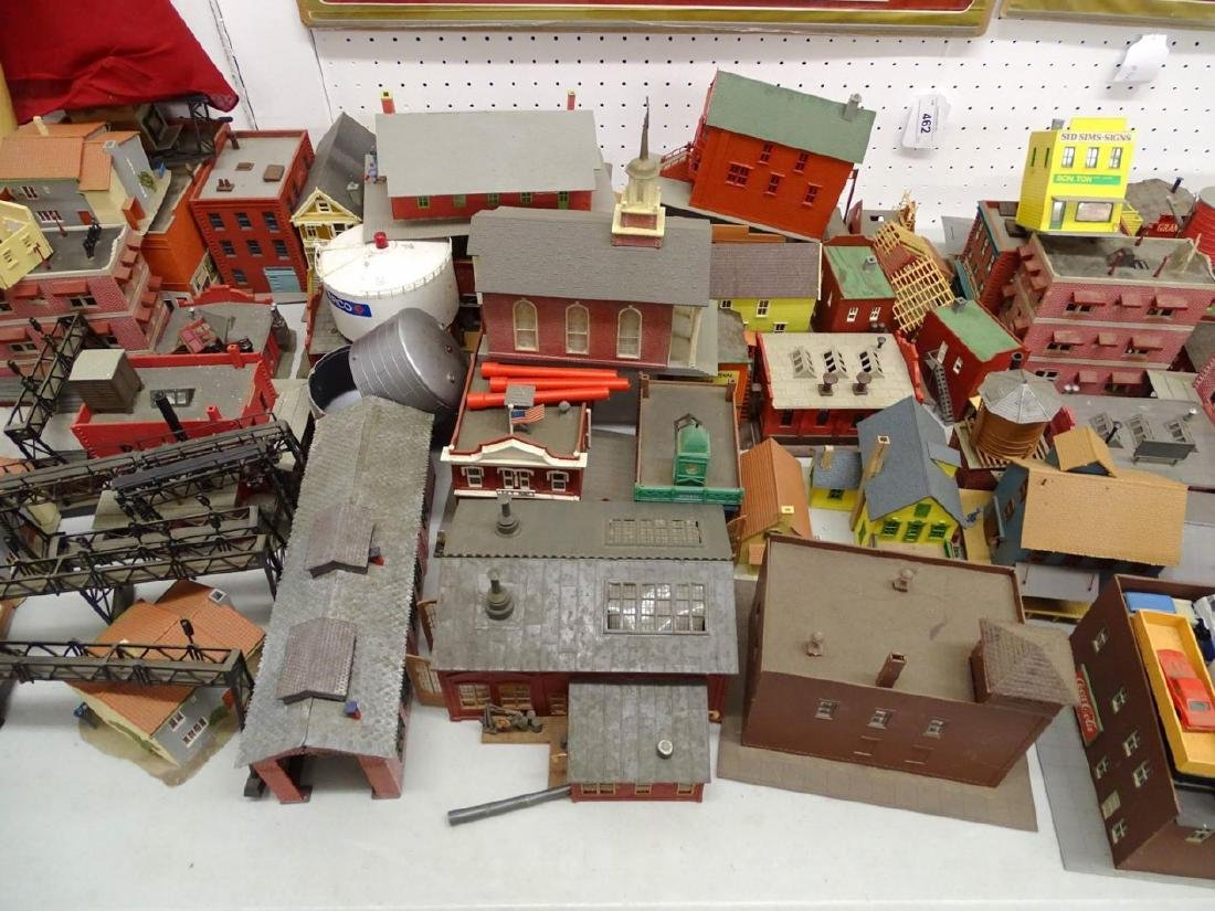 Large Lot of HO Scale Buildings - 4
