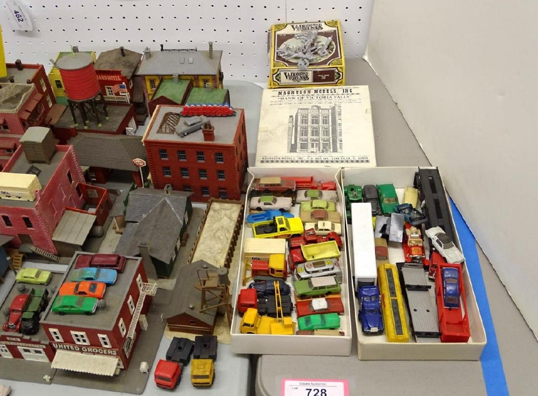 Large Lot of HO Scale Buildings - 6