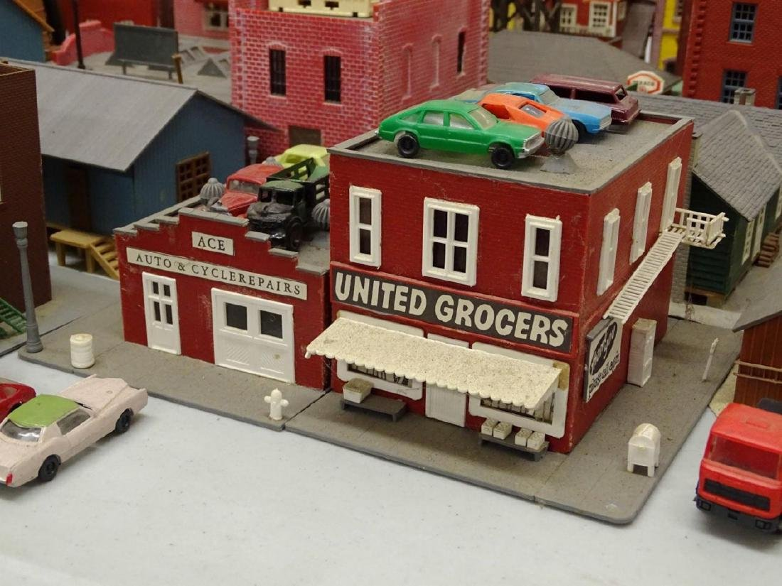 Large Lot of HO Scale Buildings - 8