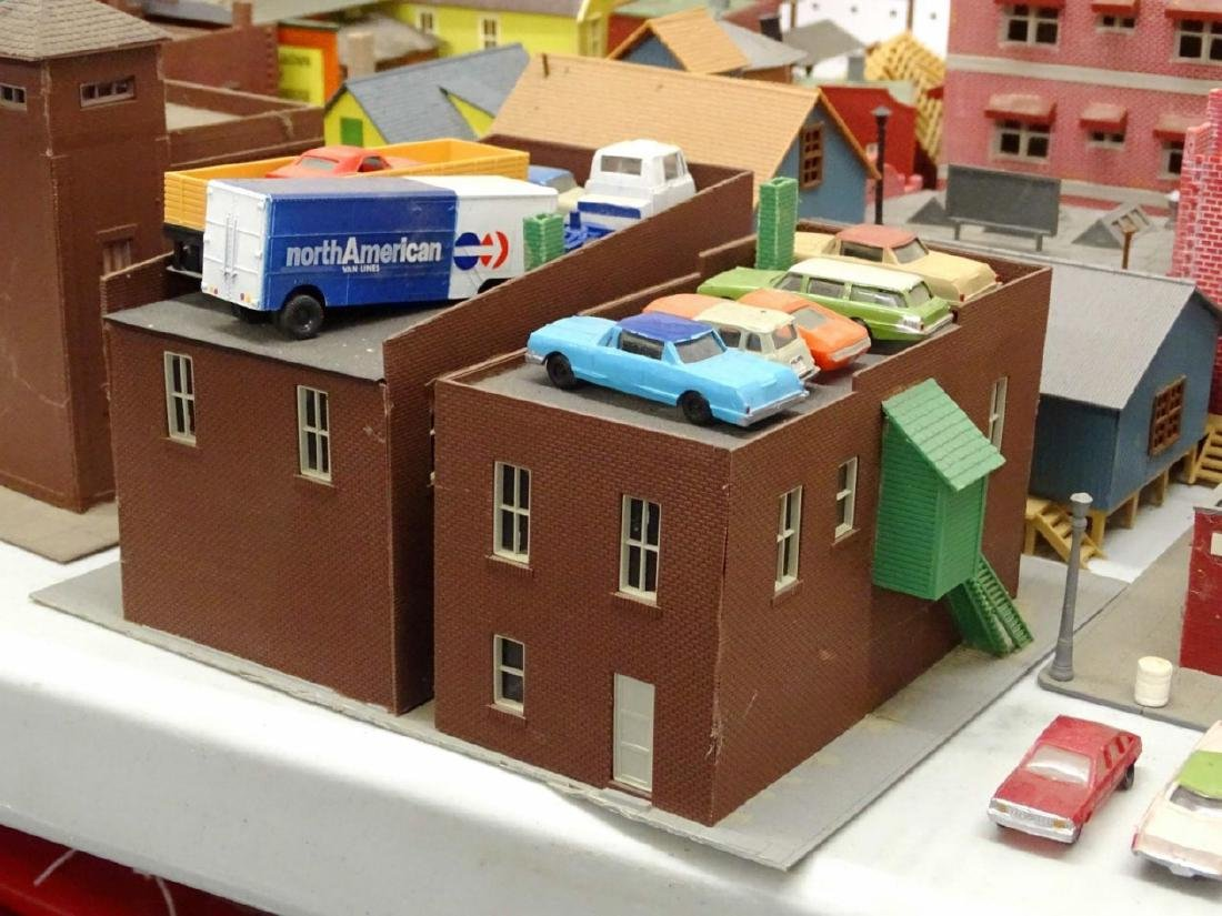 Large Lot of HO Scale Buildings - 9