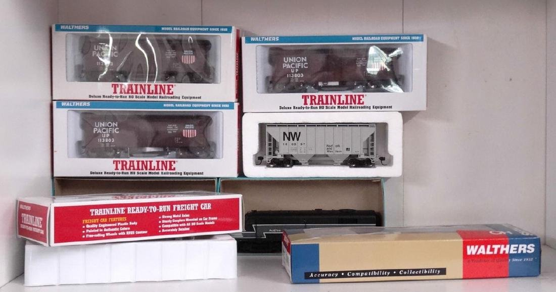 HO Scale Model Train Lot - 2