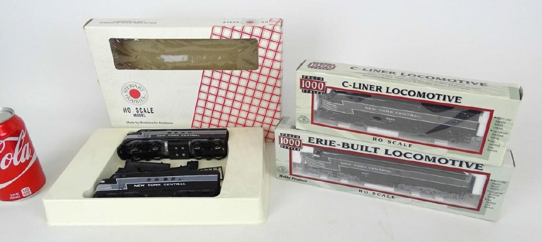 HO Scale Model Train Lot