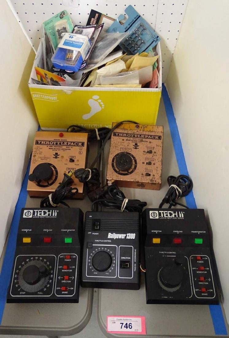 HO Scale Transformer and Misc. Lot
