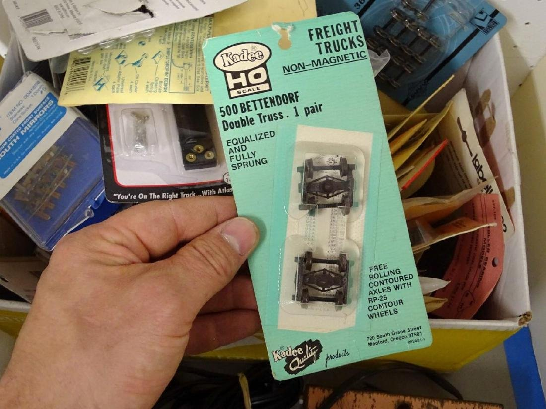 HO Scale Transformer and Misc. Lot - 8