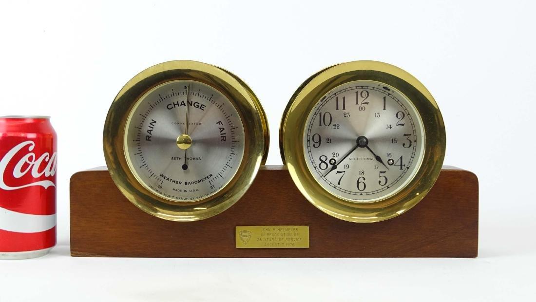 Seth Thomas Clock & Barometer