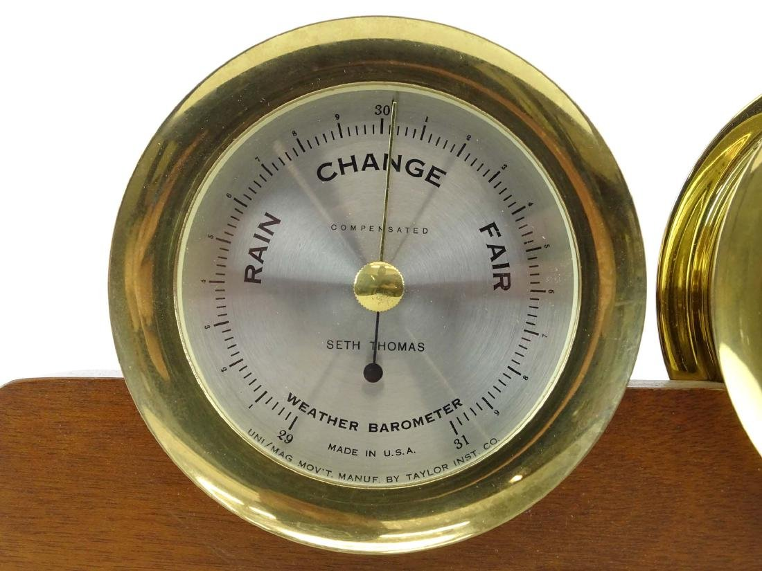 Seth Thomas Clock & Barometer - 2