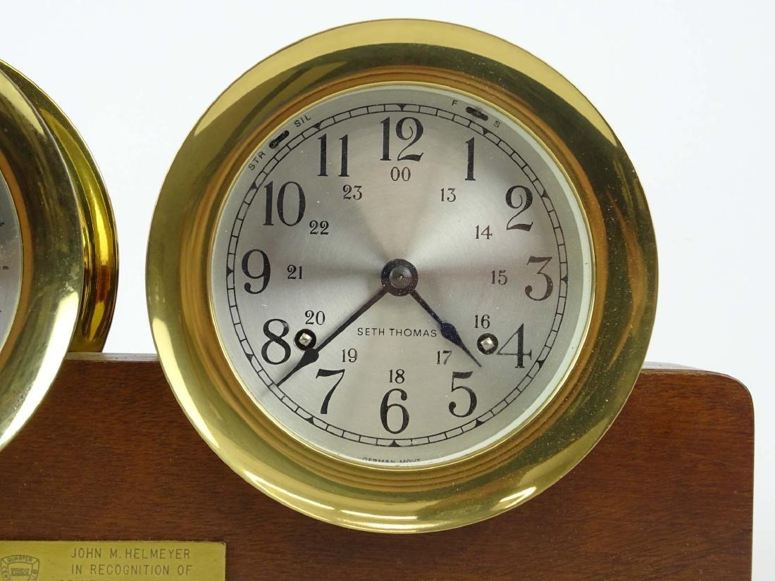 Seth Thomas Clock & Barometer - 3