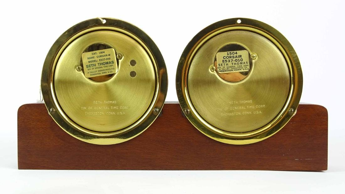 Seth Thomas Clock & Barometer - 5