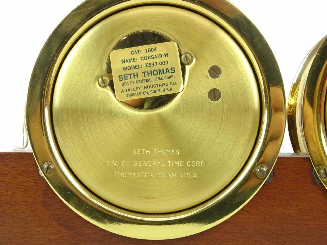 Seth Thomas Clock & Barometer - 6