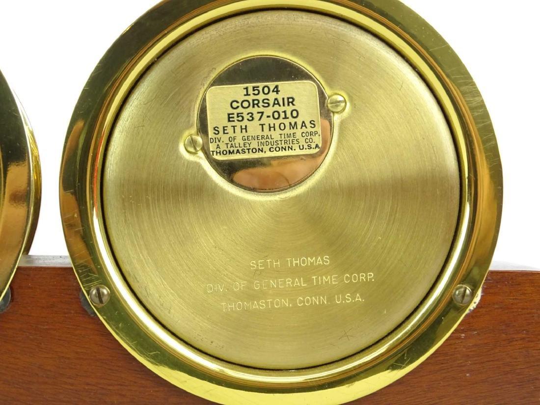 Seth Thomas Clock & Barometer - 7