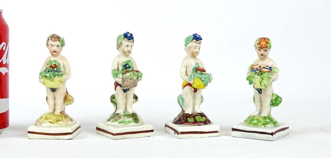 Staffordshire Four Seasons Figurines