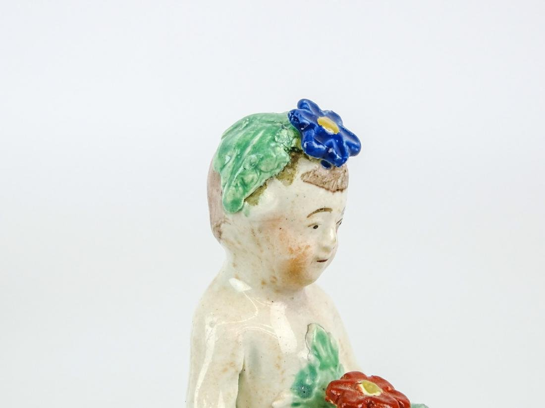 Staffordshire Four Seasons Figurines - 5