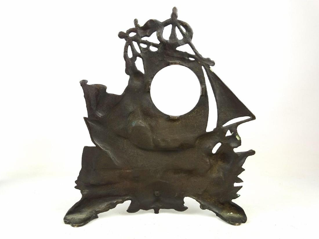 Cast Iron Clock Frames - 6