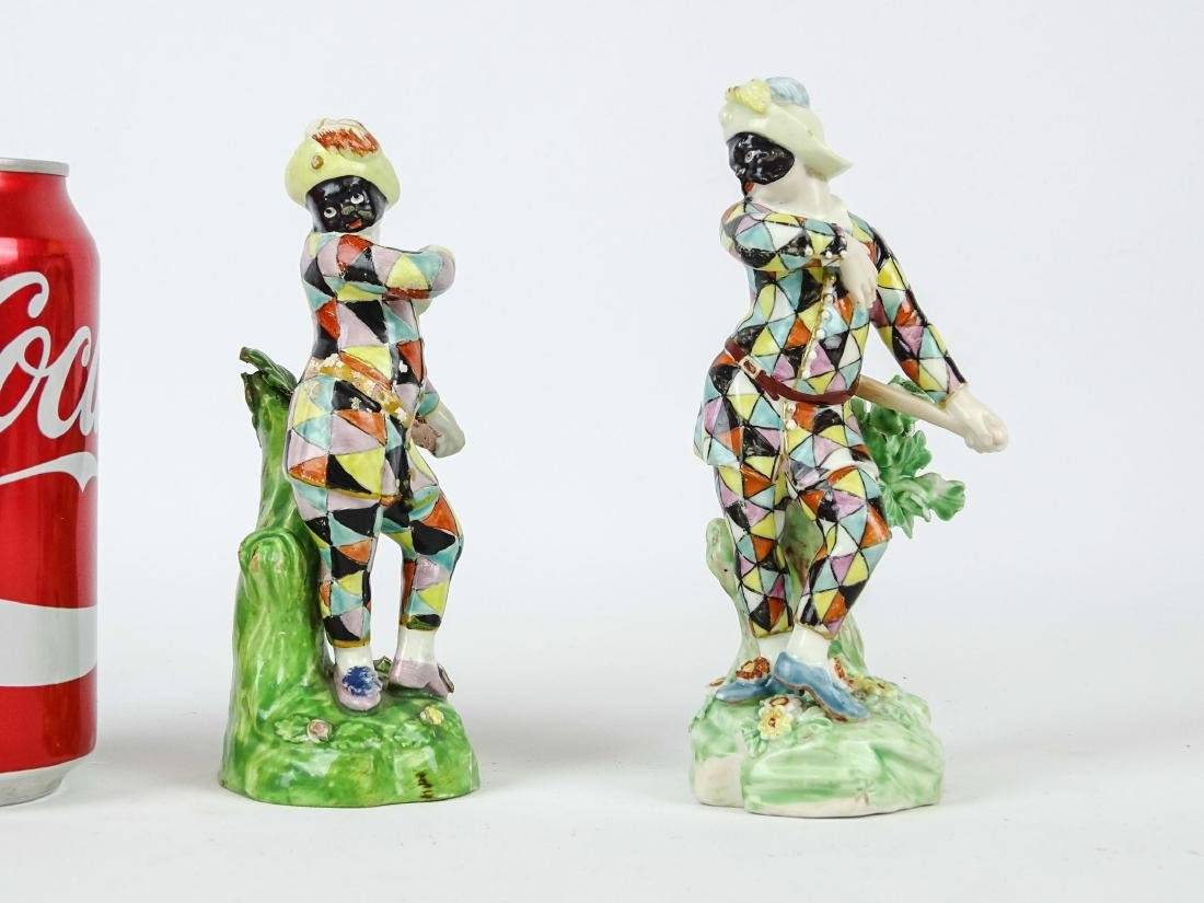 Early Harlequin Figures