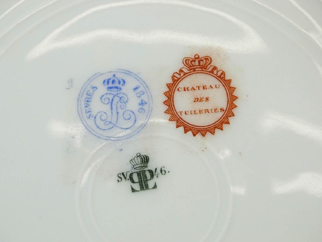 Servres Porcelain Plate - 3
