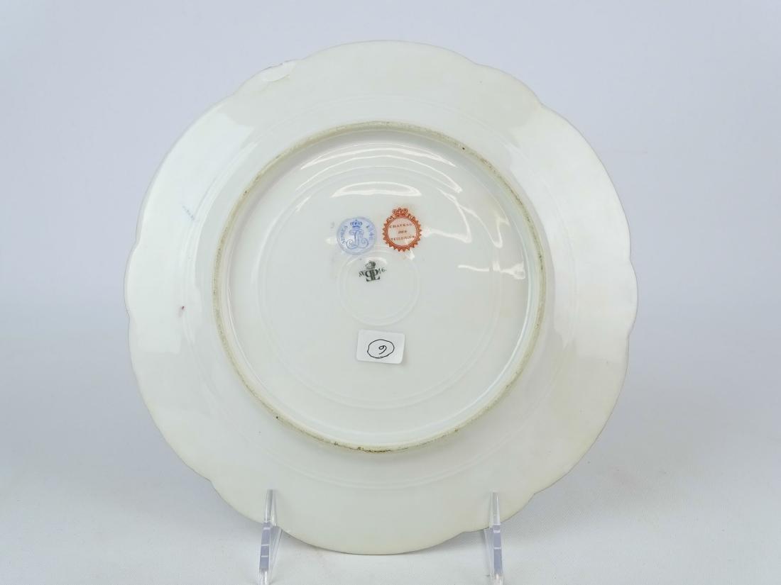 Servres Porcelain Plate - 4