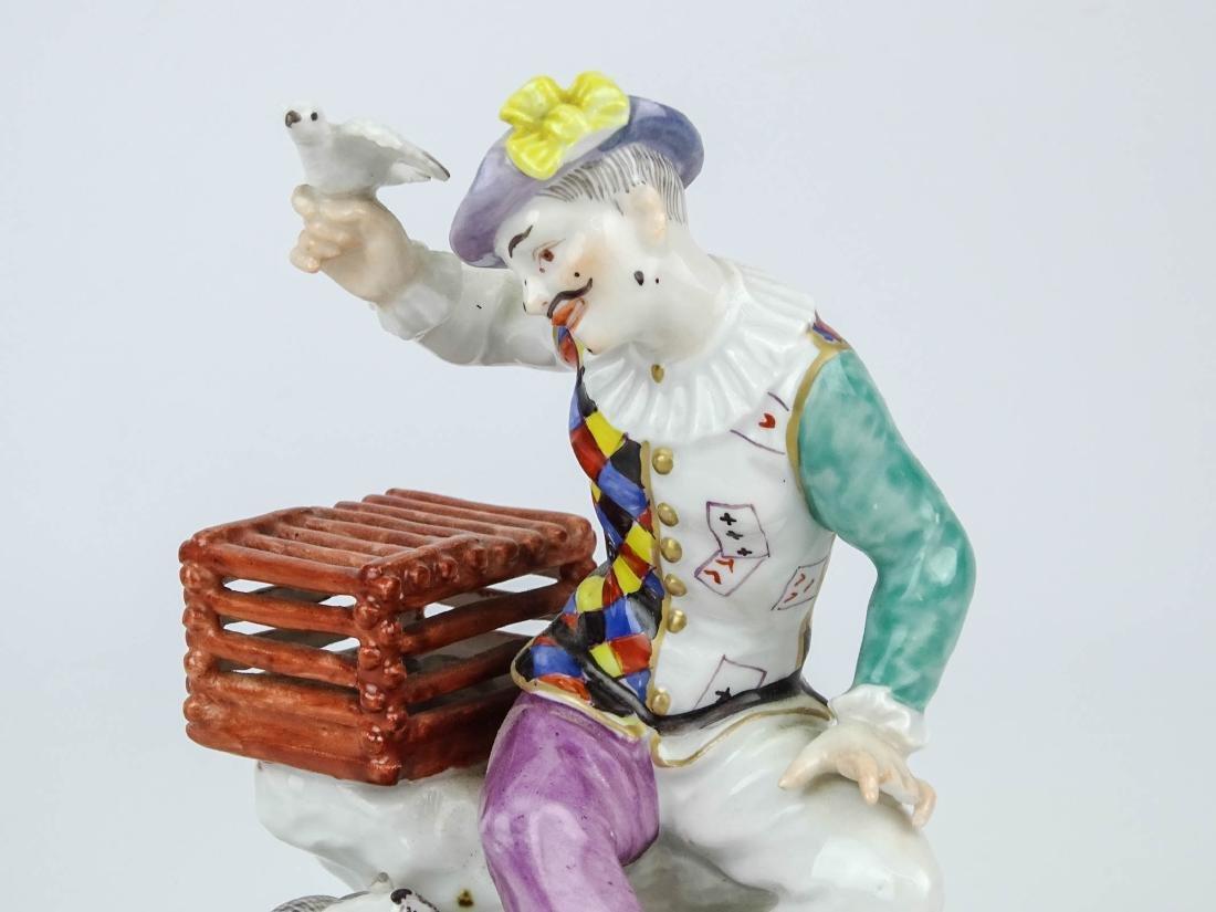 Staffordshire Harlequin Figure - 2
