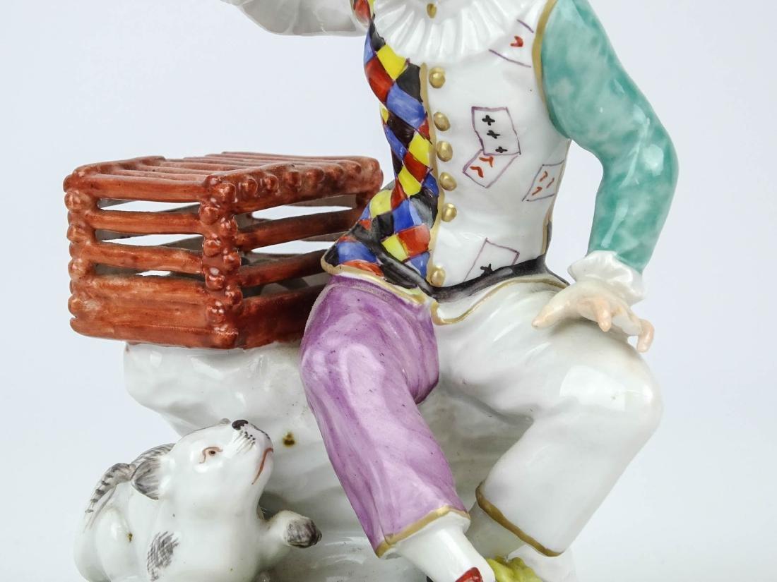 Staffordshire Harlequin Figure - 3