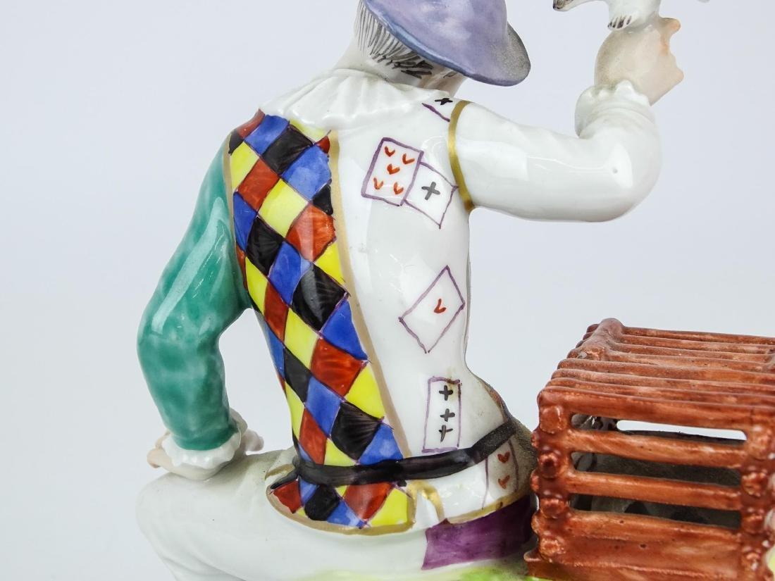 Staffordshire Harlequin Figure - 7