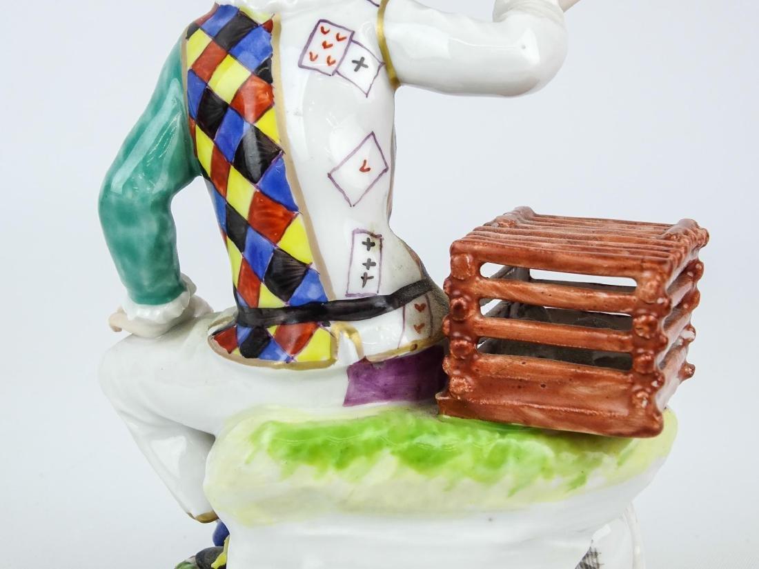 Staffordshire Harlequin Figure - 8