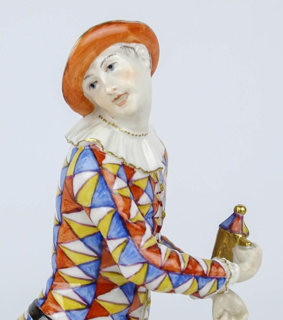 Nymphenburg Harlqeuin Figure - 2