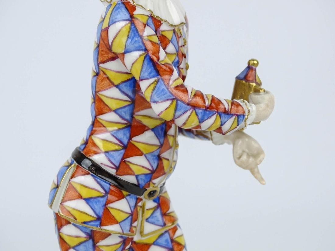 Nymphenburg Harlqeuin Figure - 3