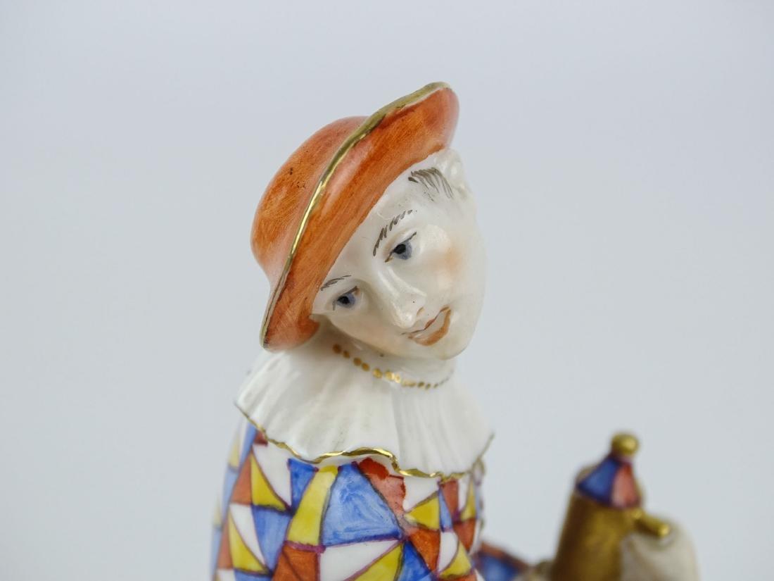 Nymphenburg Harlqeuin Figure - 5