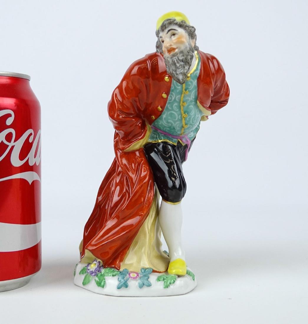 Pantaloon Porcelain Figure