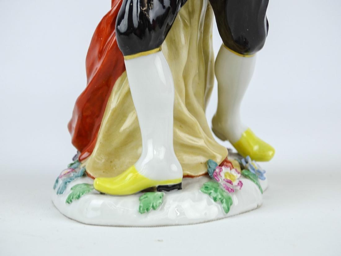 Pantaloon Porcelain Figure - 4