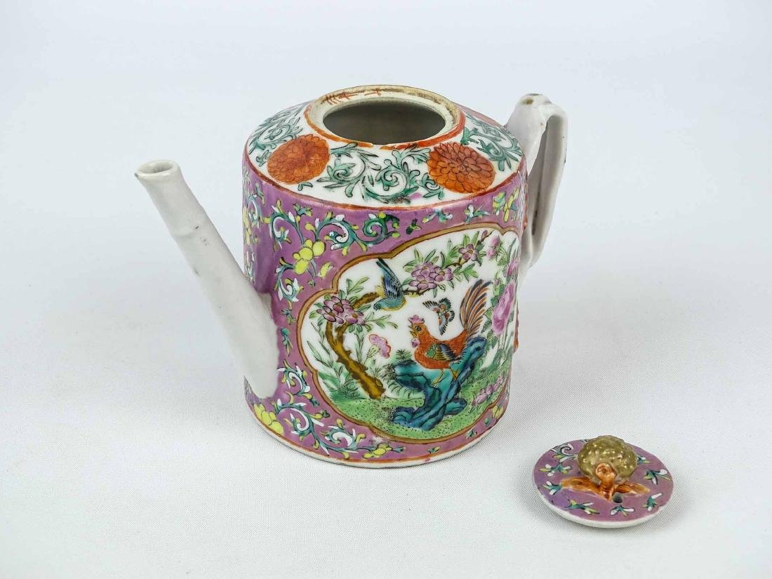 Chinese Export Teapot - 2