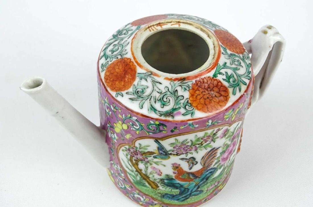 Chinese Export Teapot - 4