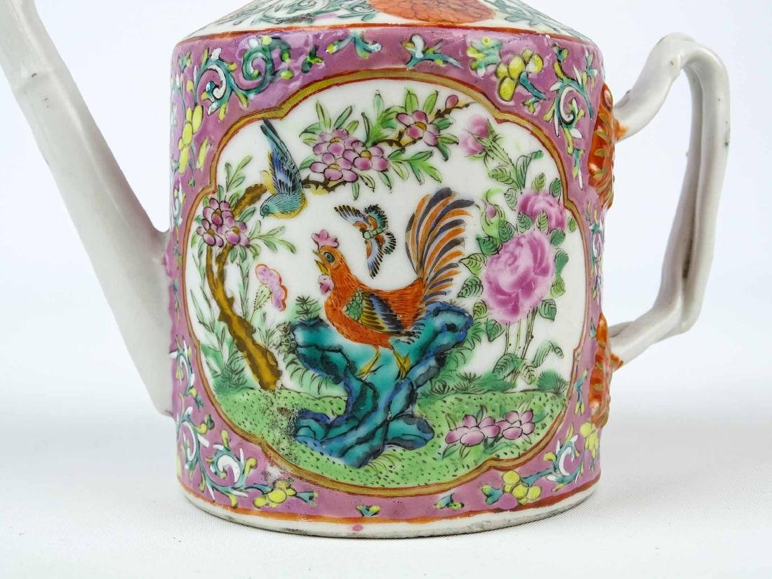 Chinese Export Teapot - 5