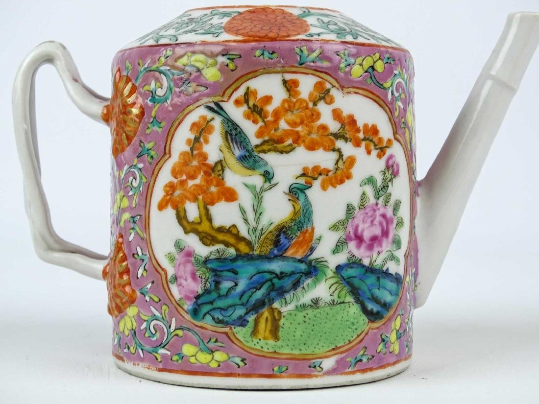 Chinese Export Teapot - 6