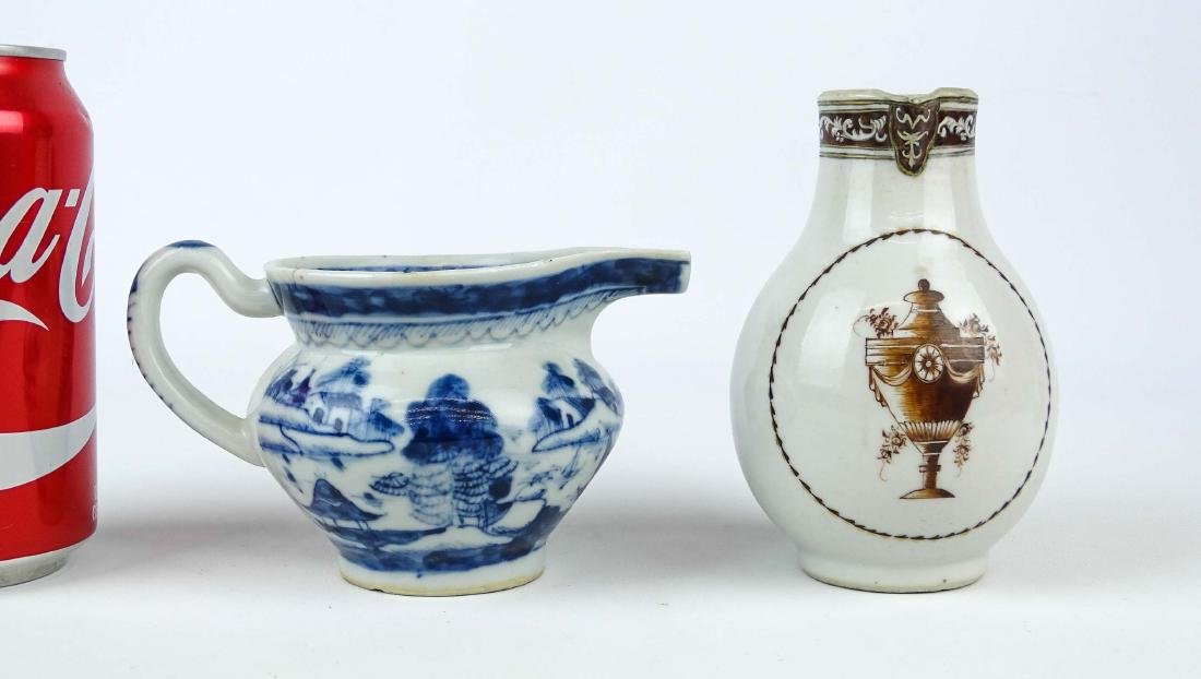 Chinese Export Porcelain Pitcher