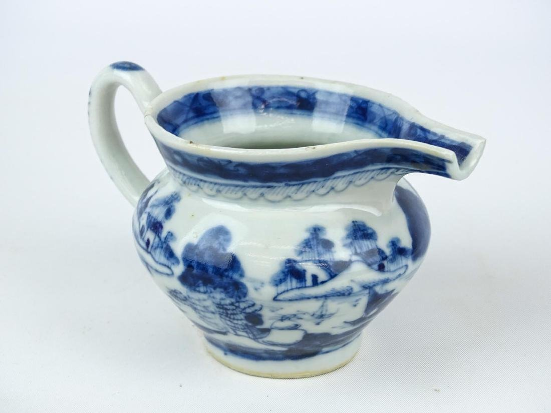 Chinese Export Porcelain Pitcher - 2