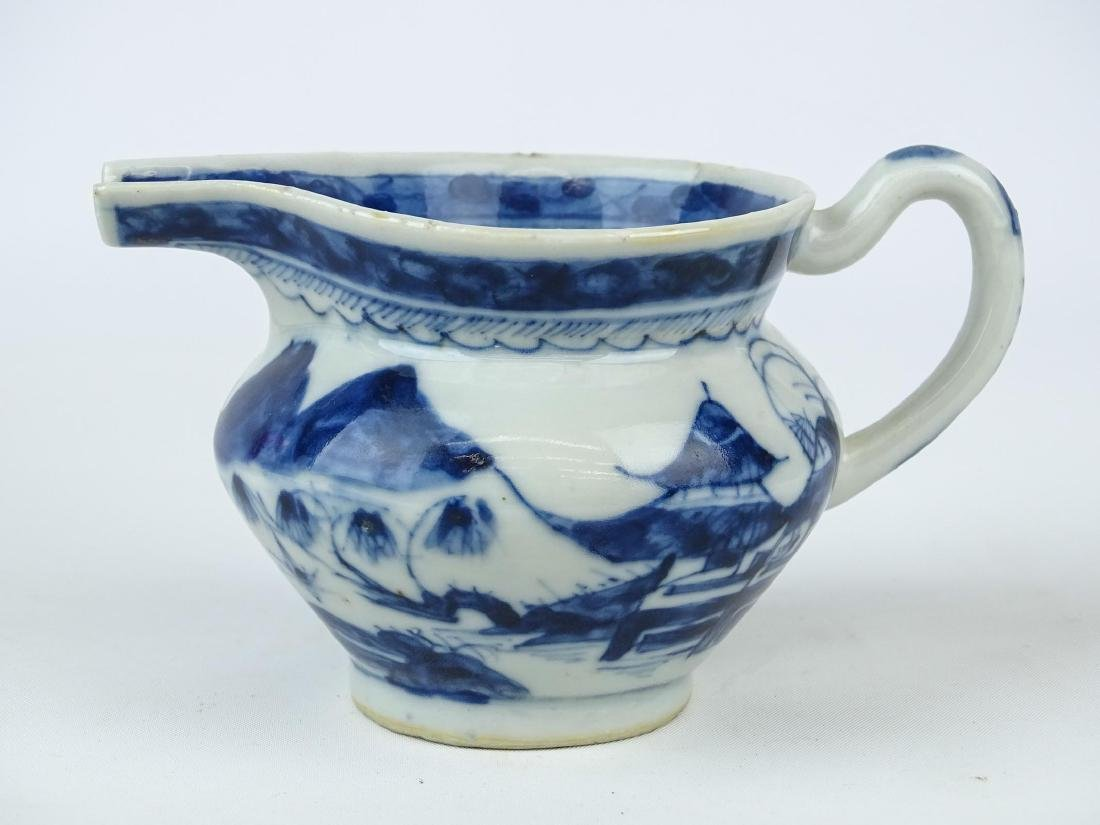 Chinese Export Porcelain Pitcher - 3