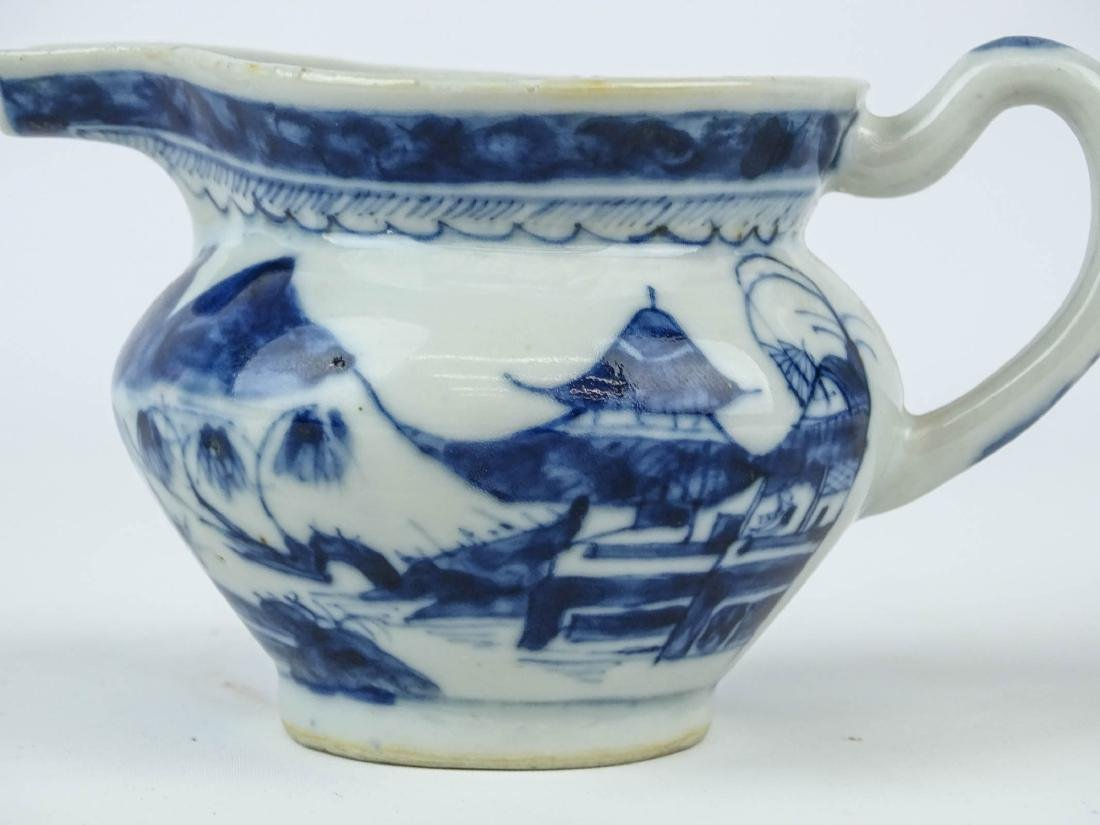 Chinese Export Porcelain Pitcher - 4
