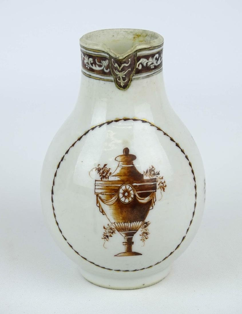 Chinese Export Porcelain Pitcher - 6