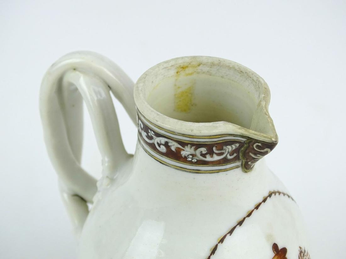 Chinese Export Porcelain Pitcher - 8